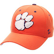 Zephyr Men's Clemson Tigers Orange Competitor Adjustable Hat