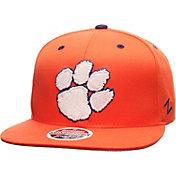 Zephyr Men's Clemson Tigers Orange Z11 Snapback Hat