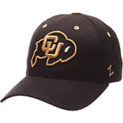 Zephyr Men's Colorado Buffaloes Black Competitor Adjustable Hat