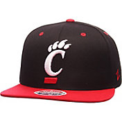 Zephyr Men's Cincinnati Bearcats Black/Red Z11 Snapback Hat