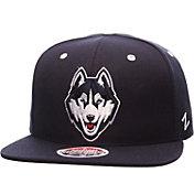 Zephyr Men's UConn Huskies Blue Z11 Snapback Hat