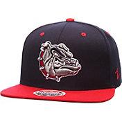 Zephyr Men's Gonzaga Bulldogs Navy/Red Z11 Snapback Hat