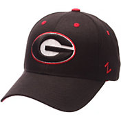 Zephyr Men's Georgia Bulldogs Black Competitor Adjustable Hat