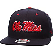 Zephyr Men's Ole Miss Rebels Blue Z11 Snapback Hat