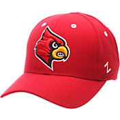 Zephyr Men's Louisville Cardinals Cardinal Red Competitor Adjustable Hat