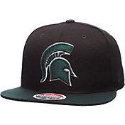 Zephyr Men's Michigan State Spartans Black/Green Z11 Snapback Hat
