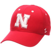 Zephyr Men's Nebraska Cornhuskers Red Competitor Adjustable Hat