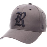 Zephyr Men's Rice Owls Grey Competitor Adjustable Hat