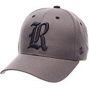 Zephyr Men's Rice Owls Grey Competitor Adjustable Hat