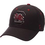 Zephyr Men's South Carolina Gamecocks Black Competitor Adjustable Hat