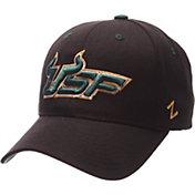Zephyr Men's South Florida Bulls Black Competitor Adjustable Hat