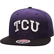 Zephyr Men's TCU Horned Frogs Purple/Black Z11 Snapback Hat