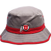 Zephyr Men's Utah Utes Grey Thunder Bucket Hat