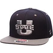 Zephyr Men's Utah State Aggies Blue/Grey Z11 Snapback Hat