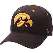 Zephyr Men's Iowa Hawkeyes Black Competitor Adjustable Hat