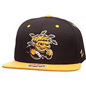 Zephyr Men's Wichita State Shockers Black/Yellow Z11 Snapback Hat