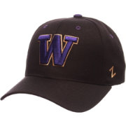 Zephyr Men's Washington Huskies Black Competitor Adjustable Hat