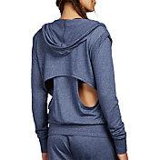 Zobha Women's Cooper Keyhole Long Sleeve Hoodie