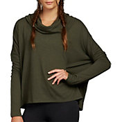 Zobha Women's Harrison Cozy Dolman Long Sleeve Shirt