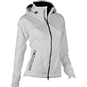 Zero Restriction Women's Olivia Full-Zip Hooded Golf Jacket