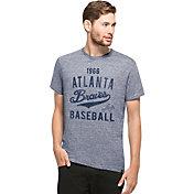 '47 Men's Atlanta Braves Denim T-Shirt