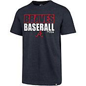 '47 Men's Atlanta Braves Blockout T-Shirt