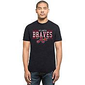'47 Men's Atlanta Braves Club Navy T-Shirt