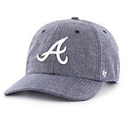 '47 Men's Atlanta Braves Emery Clean Up Adjustable Hat