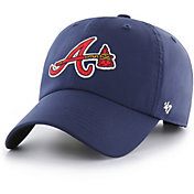 '47 Men's Atlanta Braves Repetition Clean Up Adjustable Hat