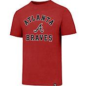 '47 Men's Atlanta Braves Red Club T-Shirt