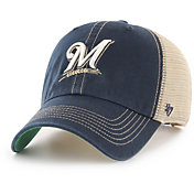 '47 Men's Milwaukee Brewers Trawler Clean Up Adjustable Hat