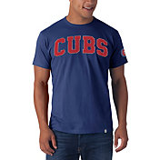 '47 Men's Chicago Cubs Blue Fieldhouse T-Shirt