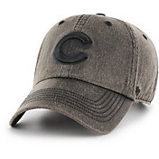 '47 Men's Chicago Cubs Caliper Clean Up Black Adjustable Hat