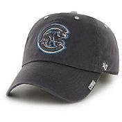 '47 Men's Chicago Cubs Ice Clean Up Grey Adjustable Hat