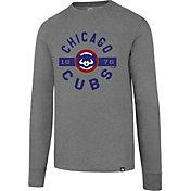 '47 Men's Chicago Cubs Club Grey Long Sleeve Shirt