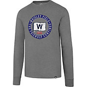 "'47 Men's Chicago Cubs Club Grey ""Friendly Confines"" Long Sleeve Shirt"