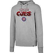 '47 Men's Chicago Cubs Headline Grey Pullover Hoodie