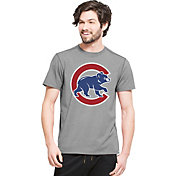 '47 Men's Chicago Cubs High Point Grey T-Shirt