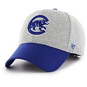 '47 Men's Chicago Cubs Retent MVP Grey Adjustable Hat