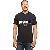 '47 Men's Chicago Cubs Splitter Grey T-Shirt