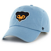 '47 Men's Chicago Cubs Clean Up Cooperstown Light Blue Adjustable Hat