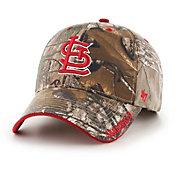 '47 Men's St. Louis Cardinals Realtree Camo Frost MVP Adjustable Hat