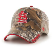 '47 Men's St. Louis Cardinals Realtree Camo Frost MVP Adjustable Hat