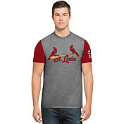 '47 Men's St. Louis Cardinals Grey Triple-Up T-Shirt