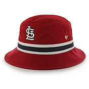 '47 Men's St. Louis Cardinals Striped Bucket Hat