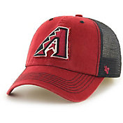 '47 Men's Arizona Diamondbacks Taylor Closer Red Fitted Hat