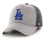 '47 Men's Los Angeles Dodgers Closer Grey Fitted Hat