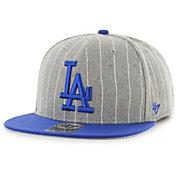 '47 Men's Los Angeles Dodgers Grey Holbrook Adjustable Snapback Hat