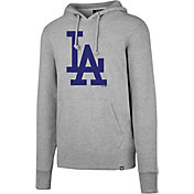 '47 Men's Los Angeles Dodgers Headline Grey Pullover Hoodie