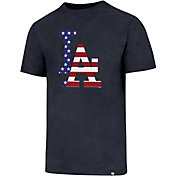 '47 Men's Los Angeles Dodgers Navy Club T-Shirt
